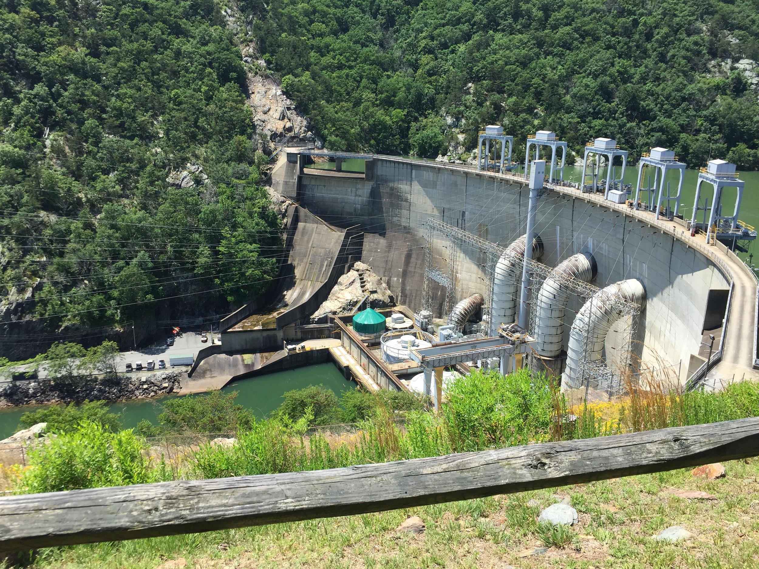 Smith Mountain Lake Dam Visitors Center in Sandy Level, VA
